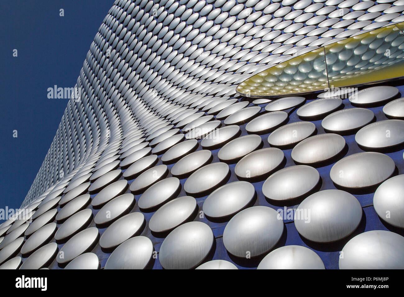 Birmingham, Vereinigtes Königreich: 29. Juni 2018: Selfridges ist einer der markantesten und Wahrzeichen der Stadt Birmingham und ein Teil der Bullring Shopping Centre. Stockbild