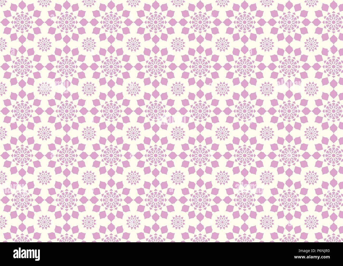 Süße rosa modernen Blumenmuster und kleinen Dorn. Hübschen Vintage Blüte Stil für Liebe und niedlichen Design. Stockbild