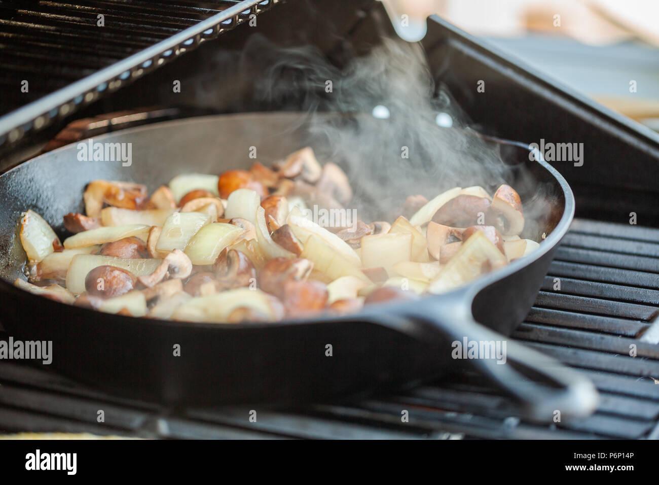 Wok Für Gasgrill : Wok pfanne gasgrill: wok aus stahl mit adapter für gasgrill brÄter
