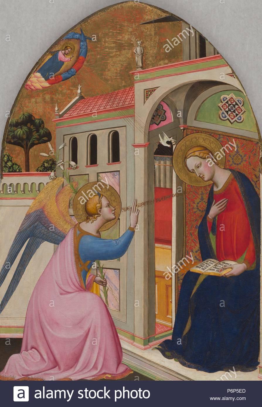 Die Verkündigung; Tommaso del Mazza (Master von St. Verdiana ...