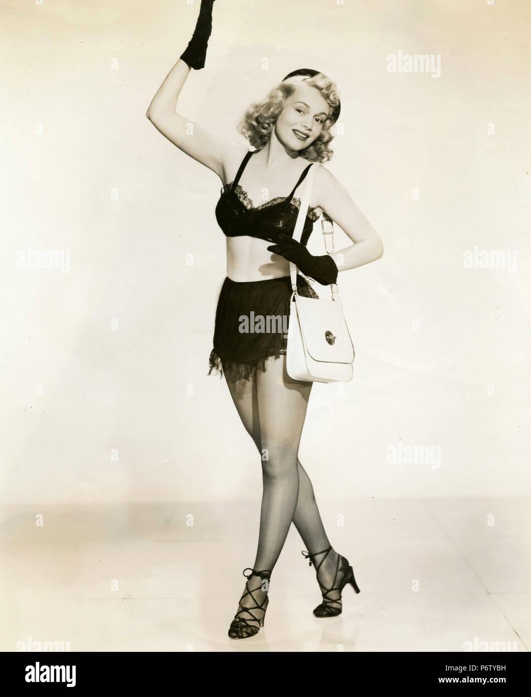 Die amerikanische Schauspielerin Diana Lynn im Film Mein Freund Irma, 1949 Stockbild