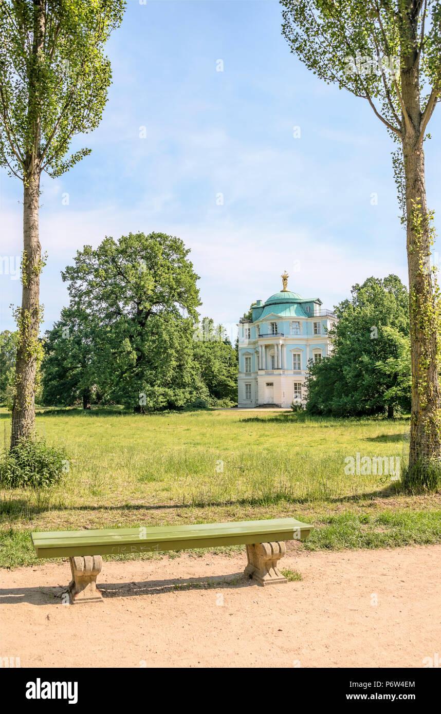 Belvedere Teehaus Im Garten Des Schloss Charlottenburg, Berlin, Deutschland  | Teehaus Belvedere Im Schlossgarten Charlottenburg, Berlin, Deutschland