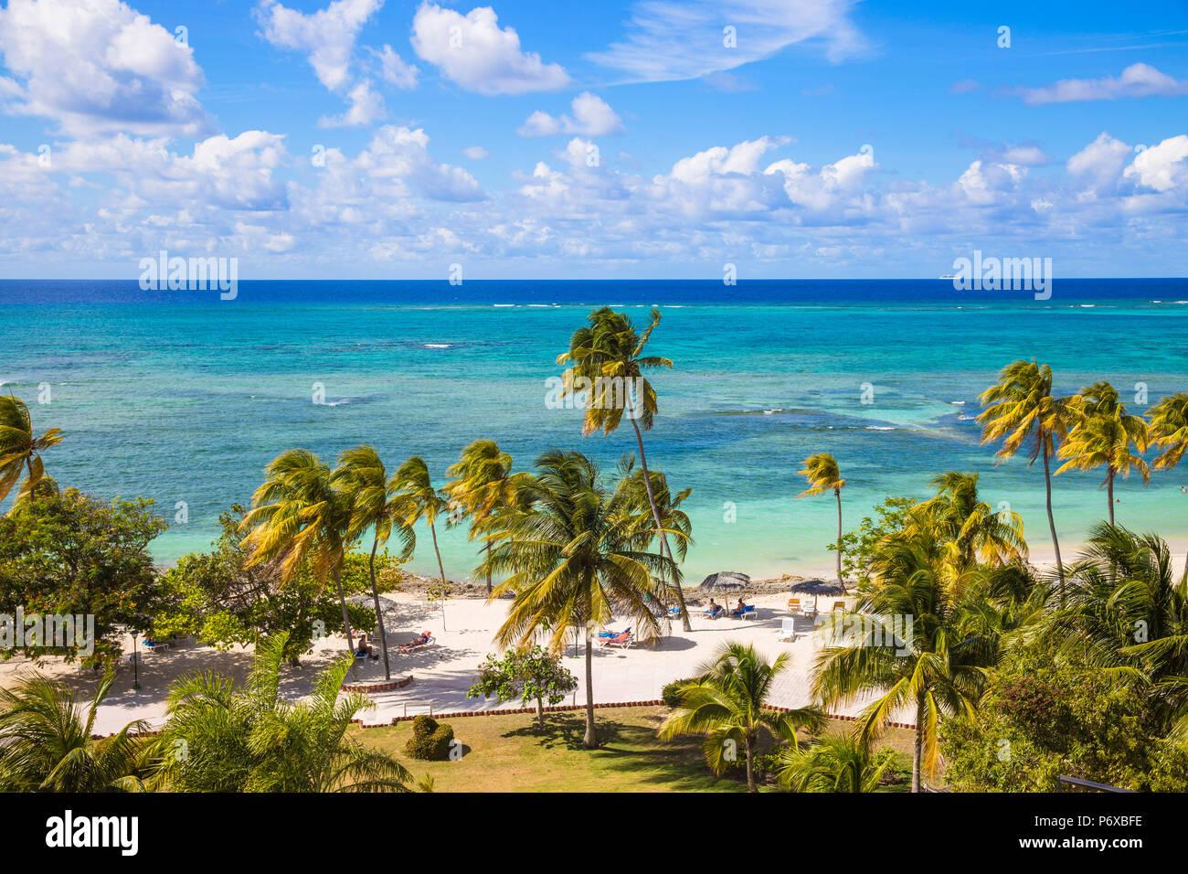 Kuba, Holguin Provinz, Playa Guardalvaca Stockbild