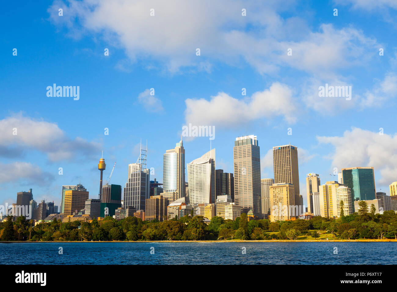 Darling Harbour, Sydney, New South Wales, Australien Stockbild