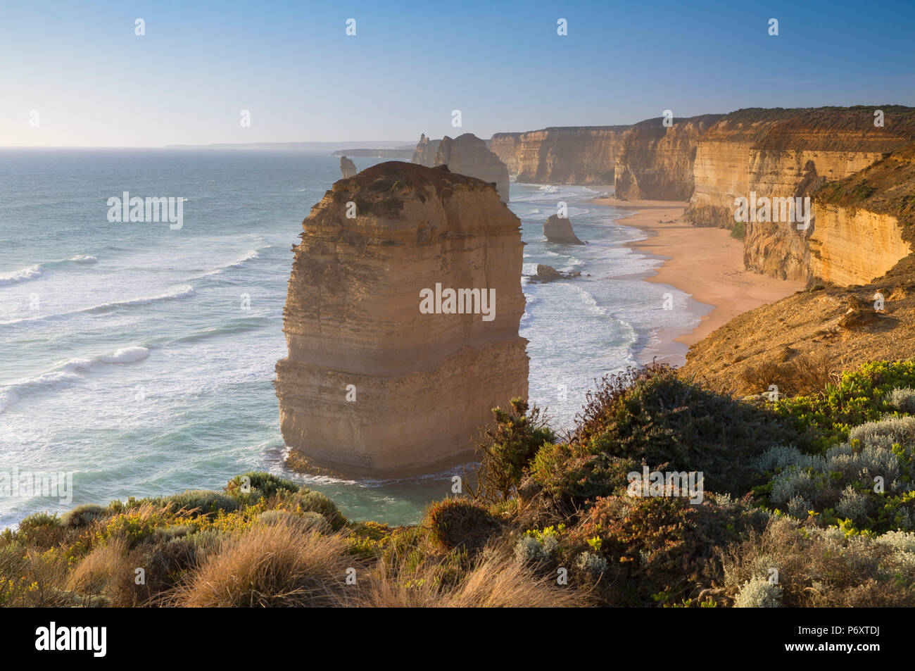 Zwölf Apostel, Port Campbell National Park, Great Ocean Road, Victoria, Australien Stockfoto