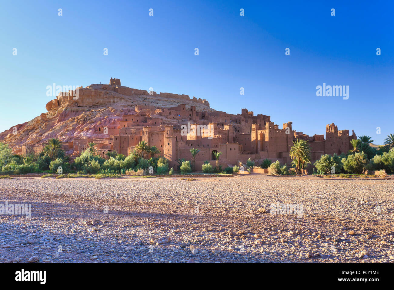 Marokko, Kasbah Ait Benhaddou Stockbild