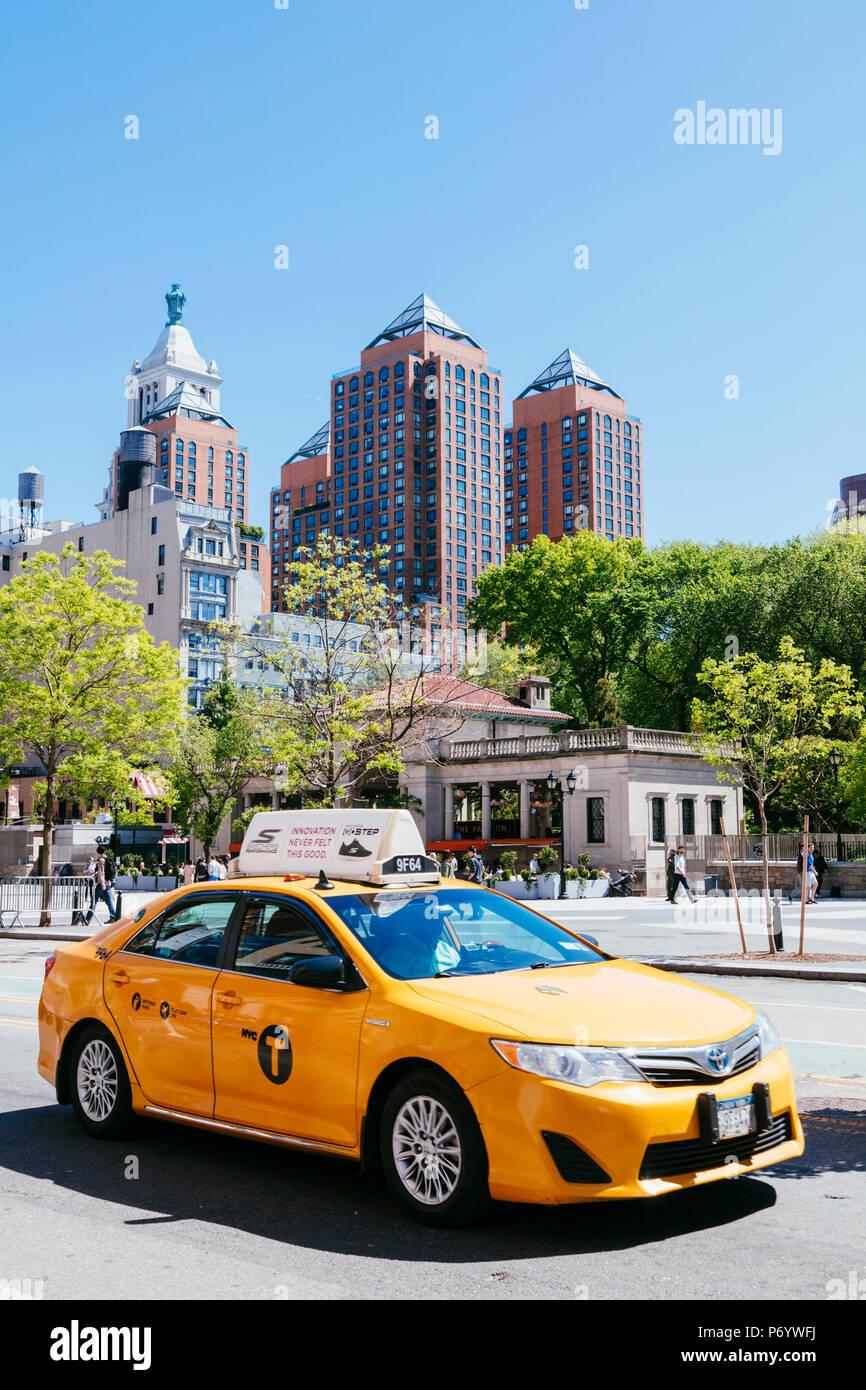 Union Square, New York City, USA Stockbild