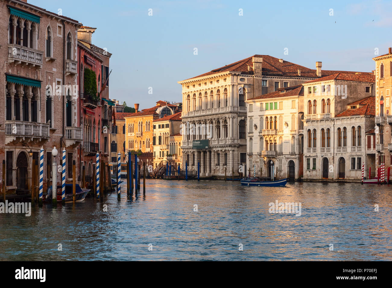HGrand Canal, Venedig Italien, während der Frühling ...