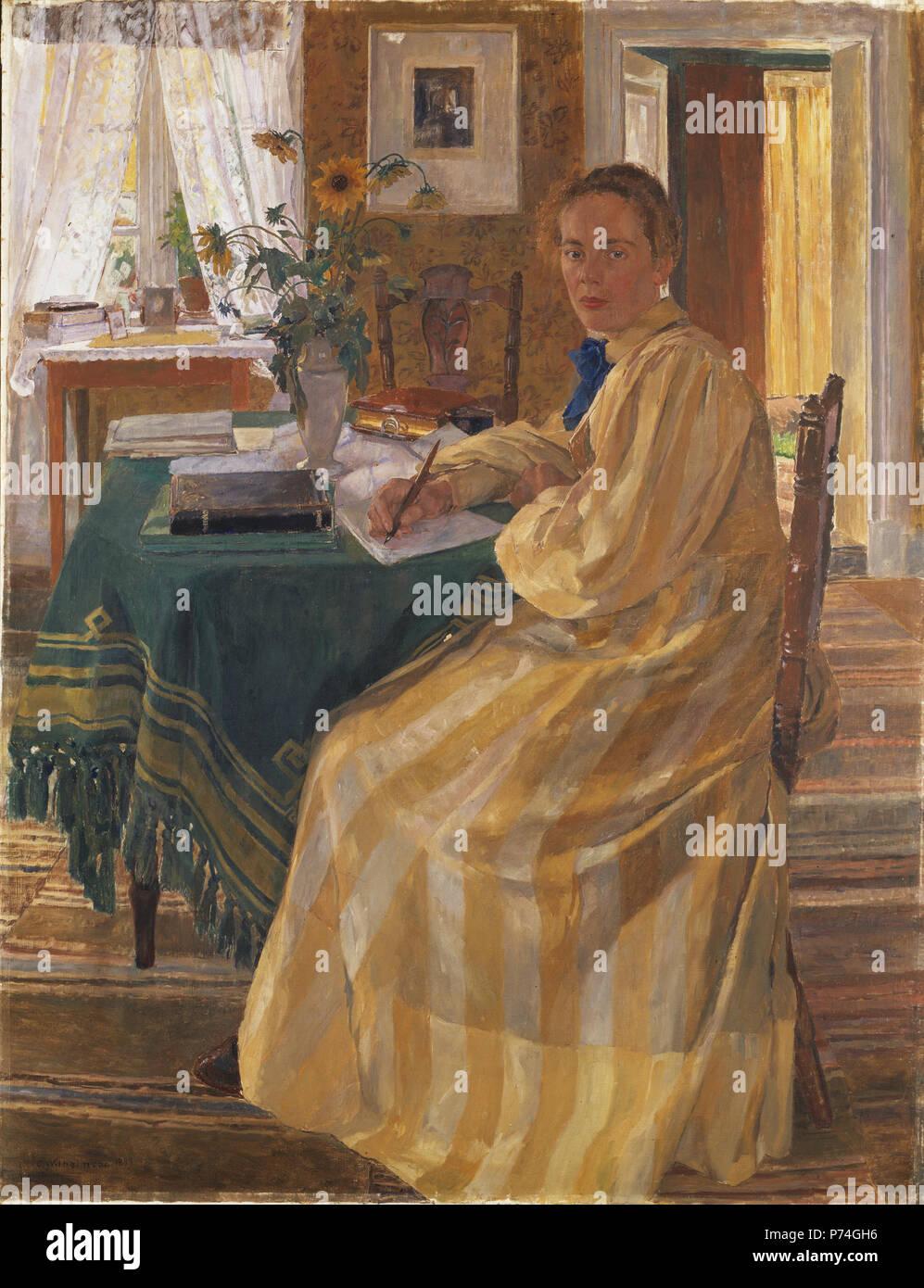 Englisch Des Künstlers Schwester Svenska Konstnärens Syster