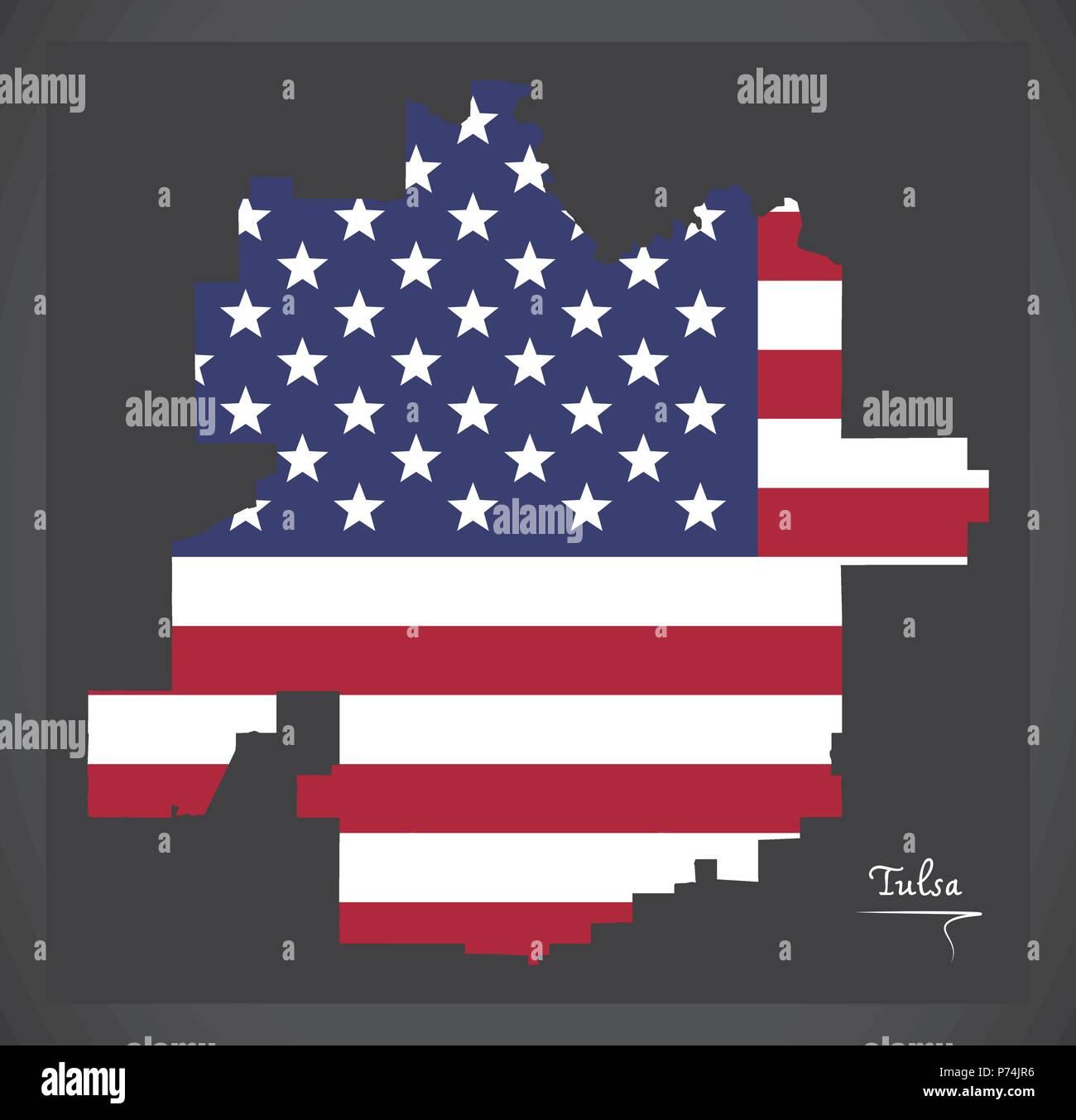 Flag Of Tulsa Stockfotos & Flag Of Tulsa Bilder - Alamy