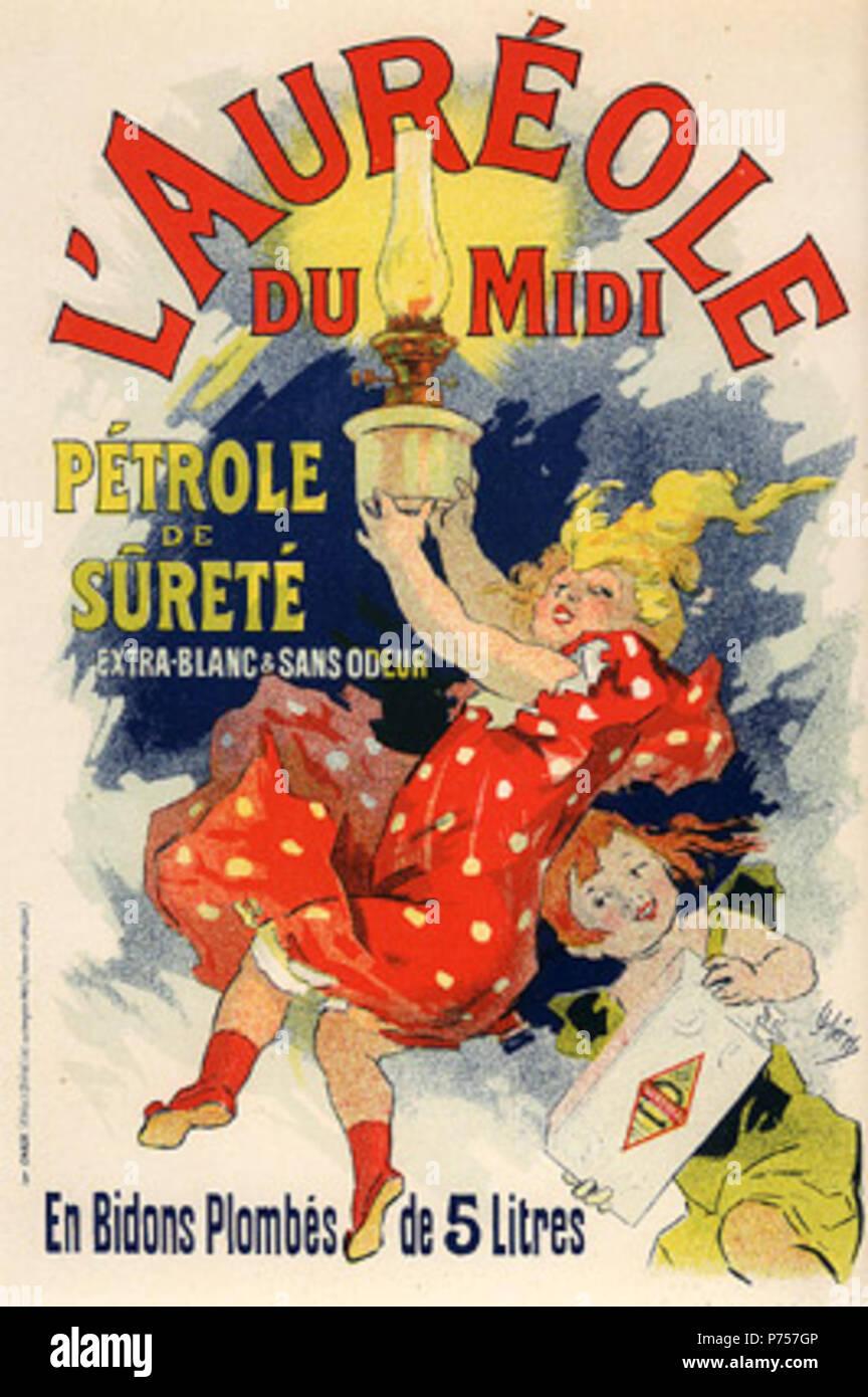 26 Cheret, Jules-L'Heiligenschein du Midi (PL 233). Stockbild