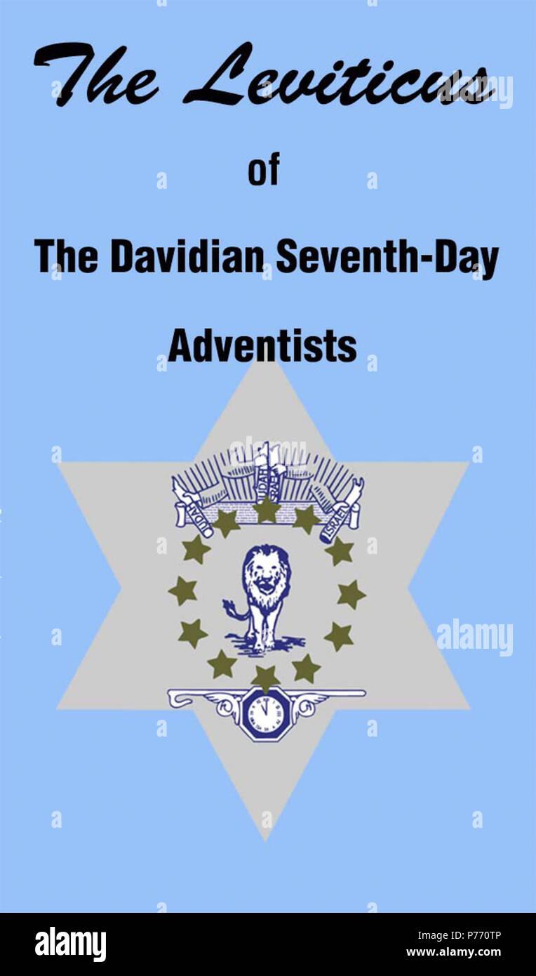 Englisch Deckblatt Für Den Davidian Siebenten Tags Adventisten