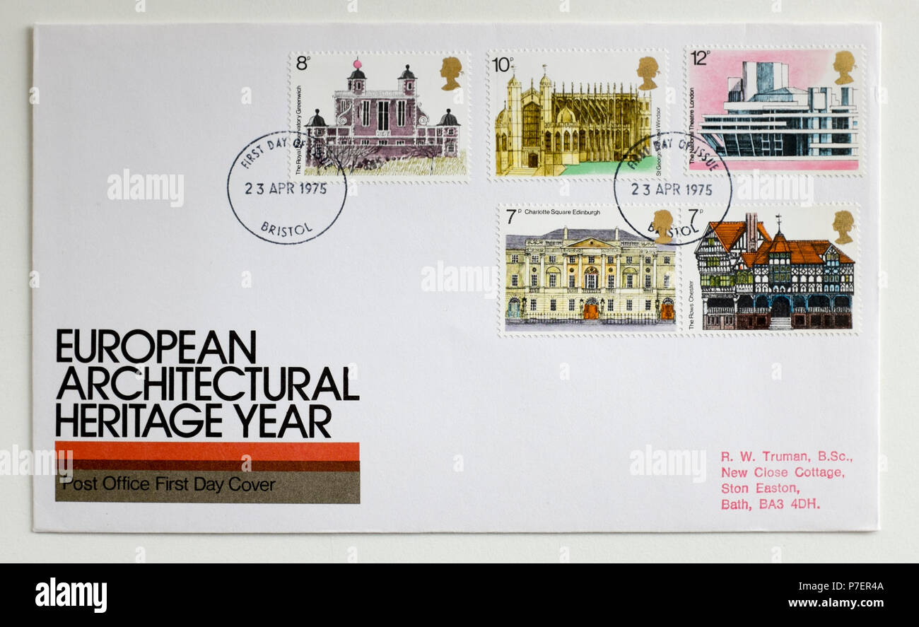 Royal Mail First Day Cover Stamps Stockfotos & Royal Mail First Day ...