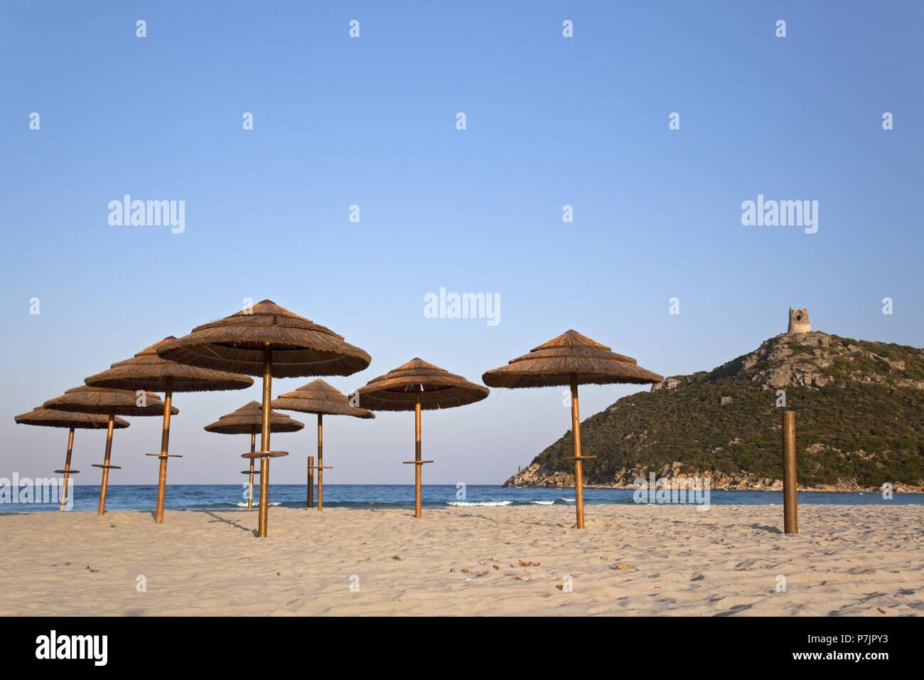Spiaggia di Porto Giunco   Villasimius   Sardinien Stockfotografie ...