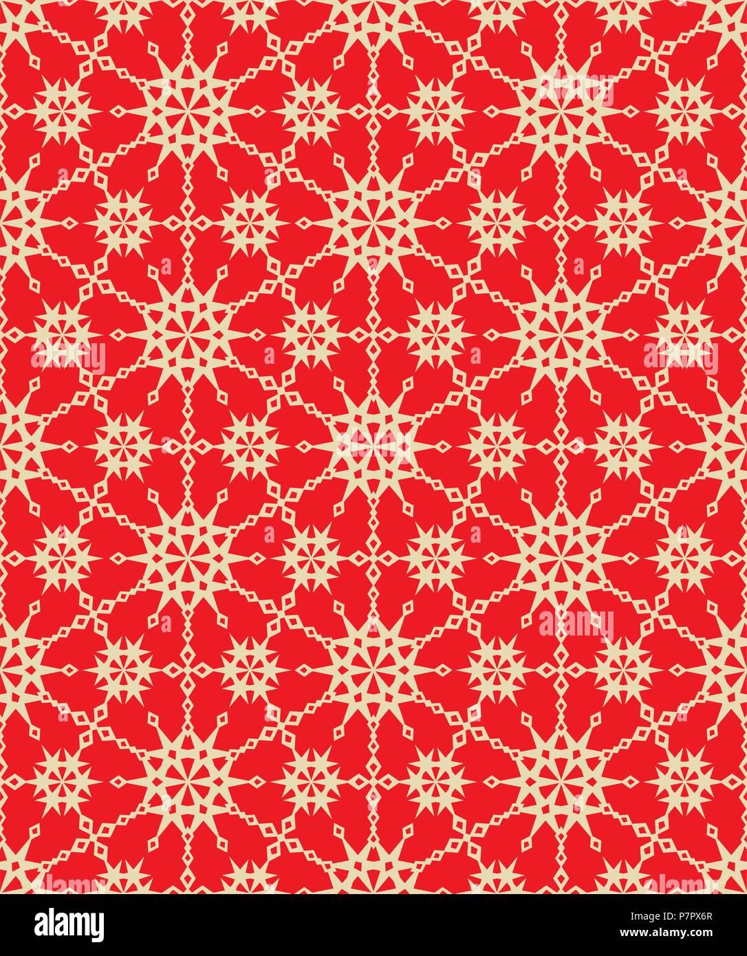 nahtlose sie sehen 8 tiles elegante rot und gold abstract urlaub muster drucken tapeten swatch textur oder hintergrund - Tapete Rot Muster