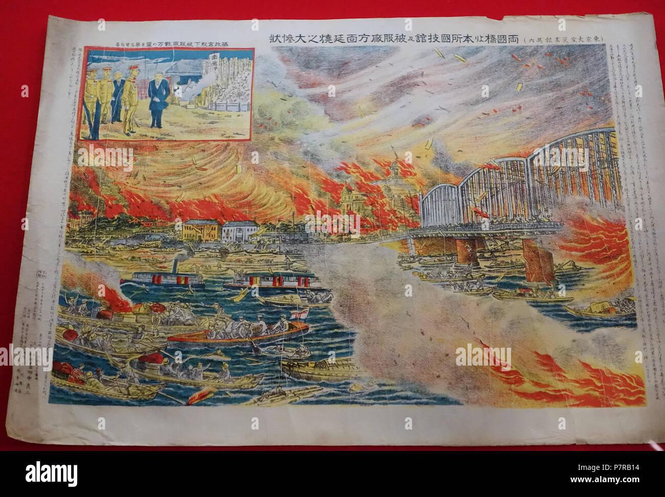 Englisch: Im Edo-Tokyo Museum - Sumida, Tokio, Japan Drucken. 6 ...
