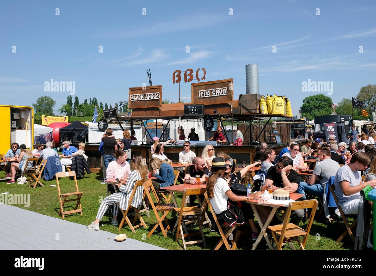 De Rollende Keukens : Food festival de rollende keukens die rollende küche in amsterdam