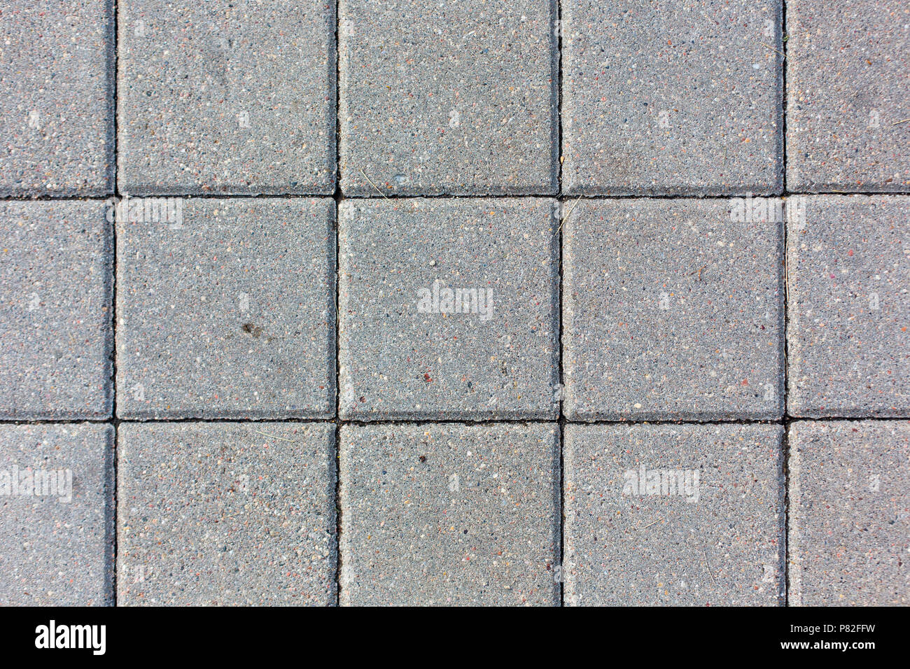 Konkrete quadratischen Fliesen Muster Textur Hintergrund Stockfoto ...