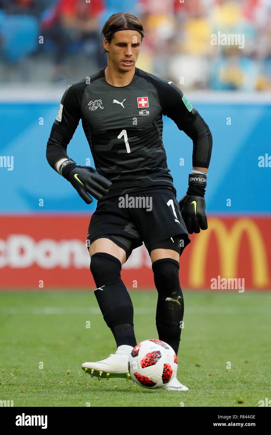 Sankt Petersburg Russland 3 Juli Yann Sommer Der Schweiz Nationalmannschaft Wahrend Der Fifa Wm Russland 2018