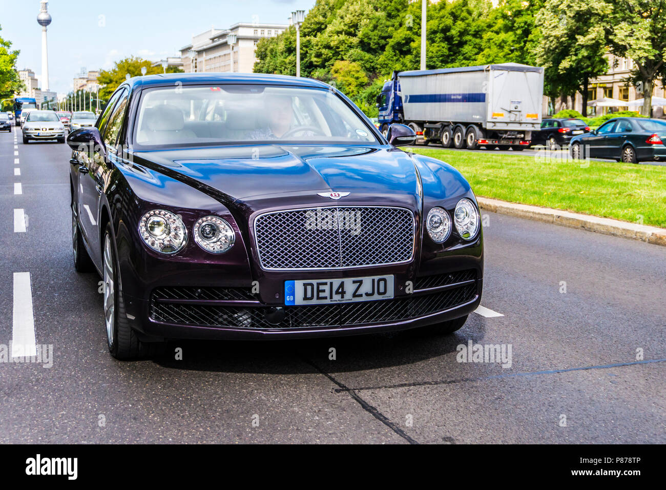 Berlin 17 Juni 2017 Personal Luxury Cars Bentley Continental