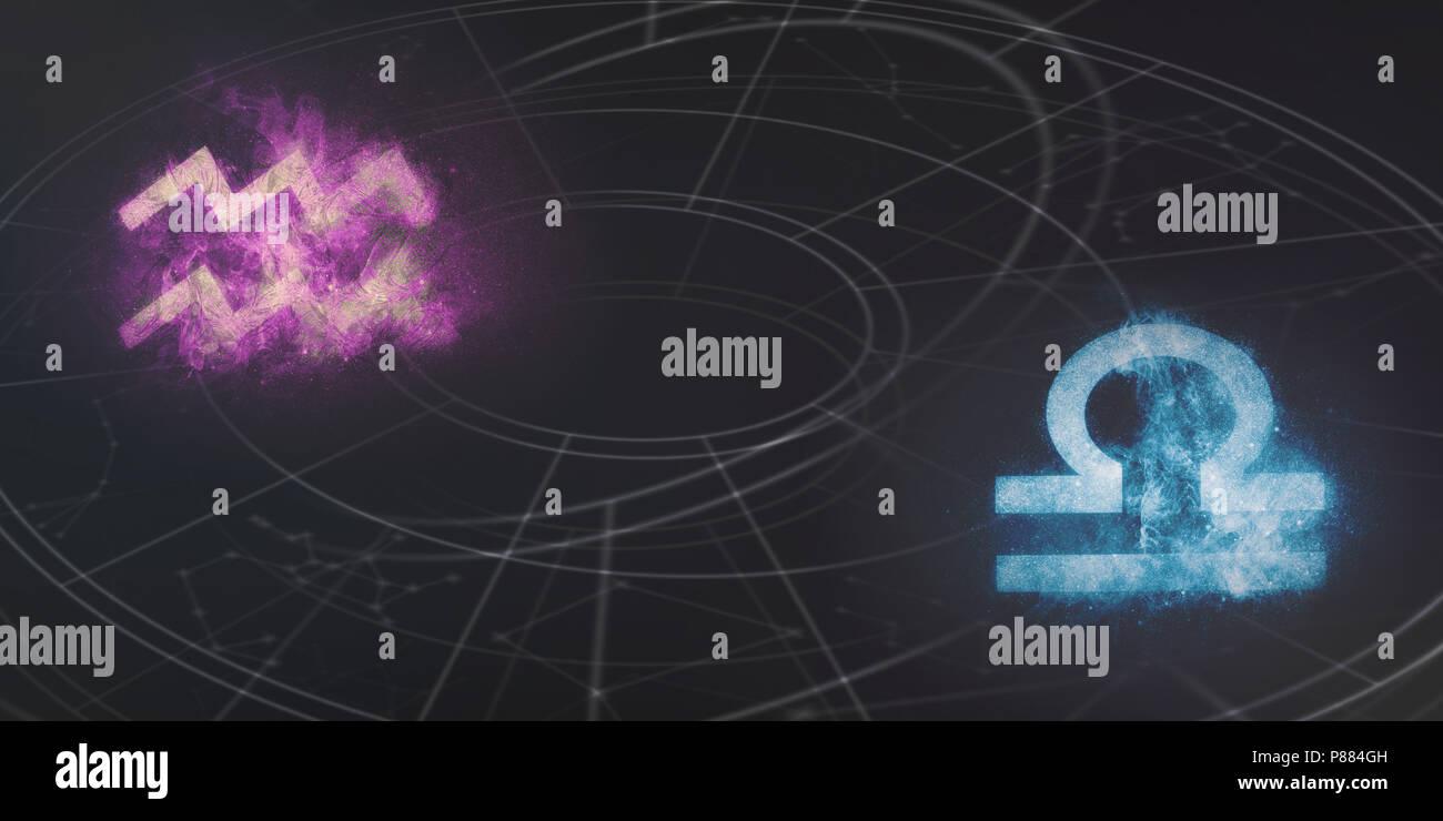 horoskop waage wassermann