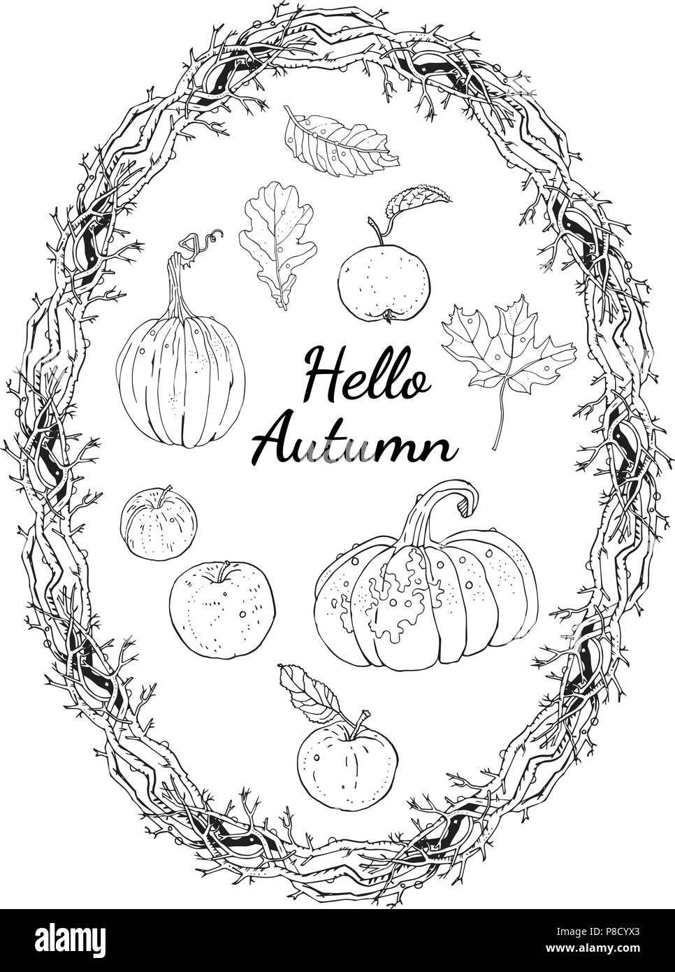 Schön Herbst Färbung Seite Fotos - Beispiel Zusammenfassung ...