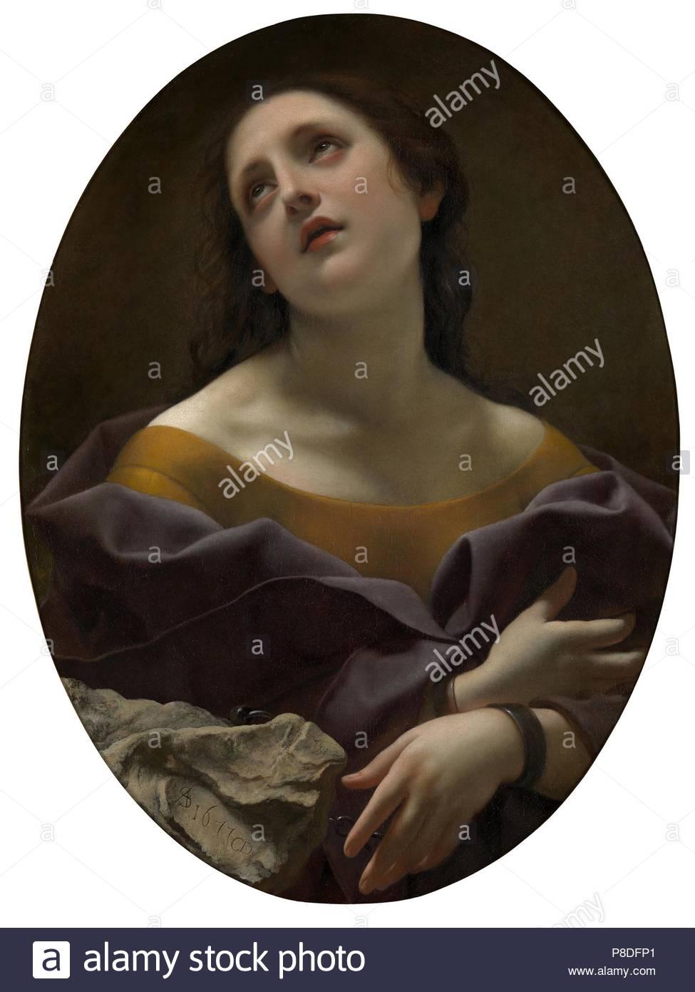 Allegorie der Geduld. Museum: private Sammlung. Stockbild