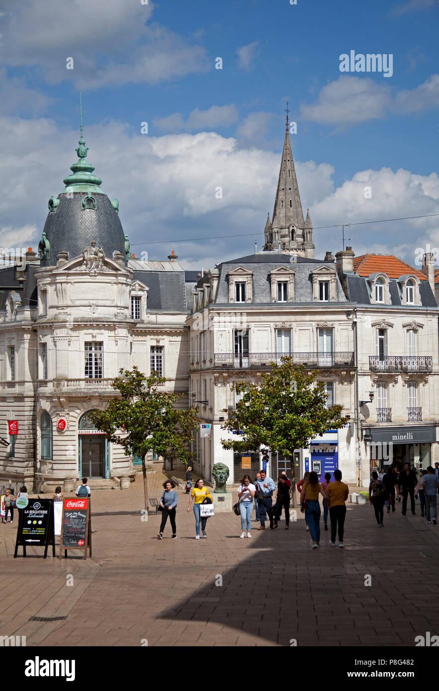 Angoulême Charente Abteilung, in der Nouvelle-Aquitaine Region im Südwesten Frankreichs, Europa Stockbild