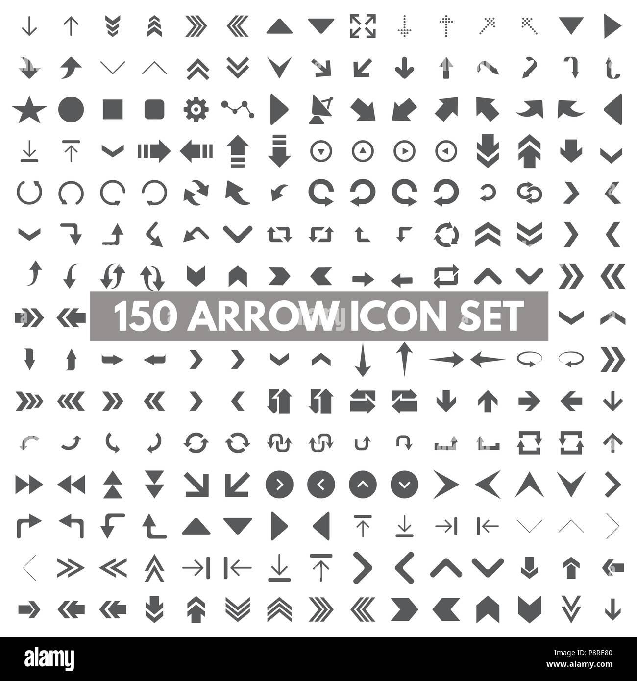 Moderne, einfache Piktogramm minimal, flache, feste, Mono, monochrom ...