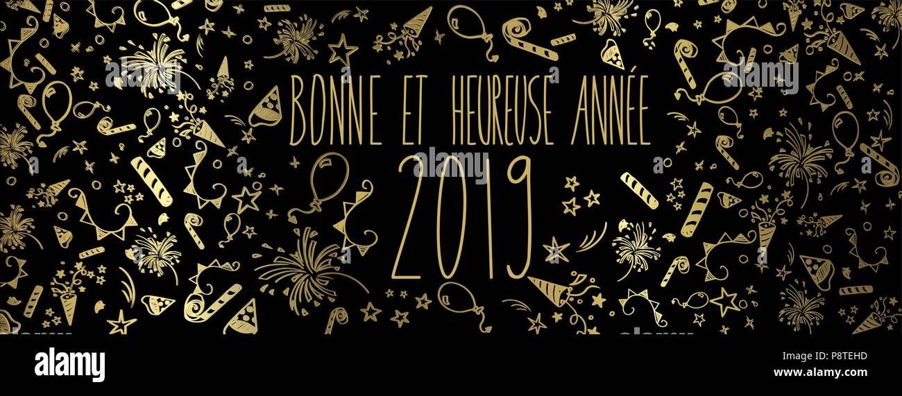 Französisches Frohes Neues Jahr Stockfotos & Französisches Frohes ...