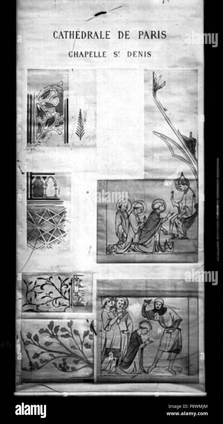 77 Cathédrale Notre Dame Peintures Murales D Après Les Dessins De