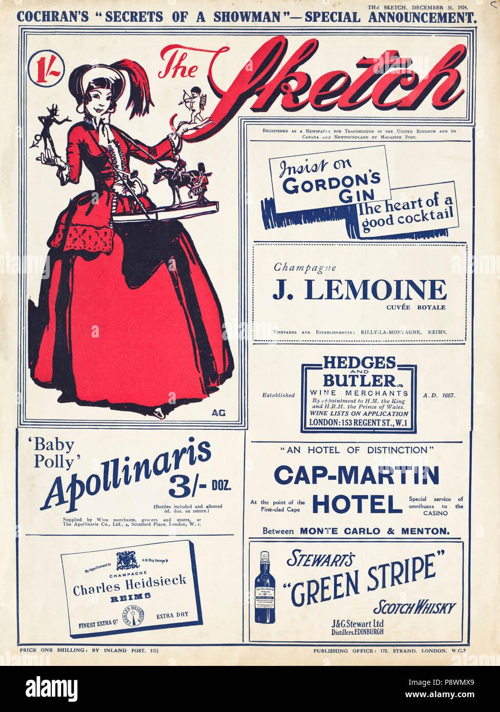Original 1920er Jahre Werbung Werbung K Schuhe für Damen