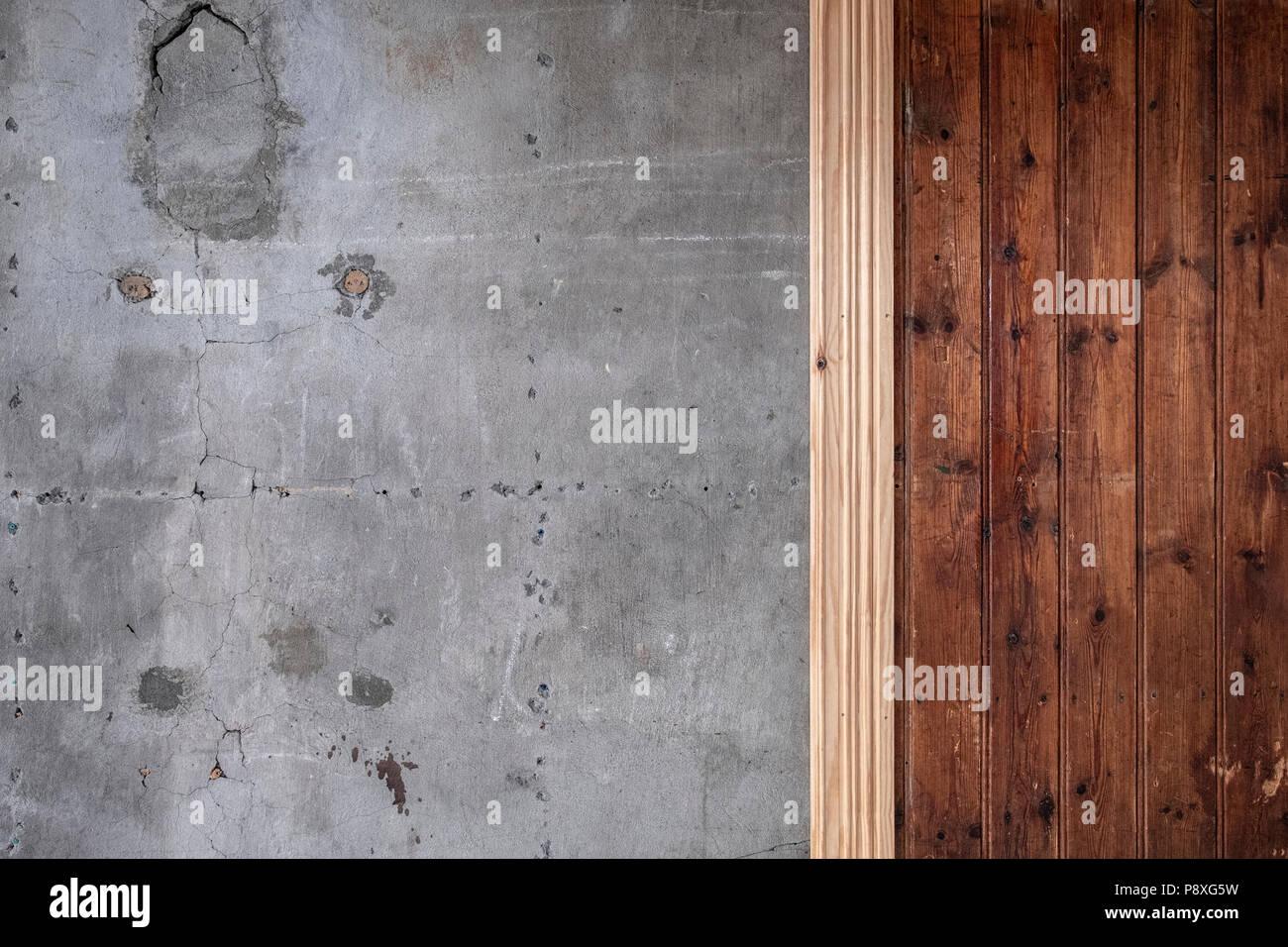 detaillierte hintergrund textur von alt und abgenutzt holz paneele
