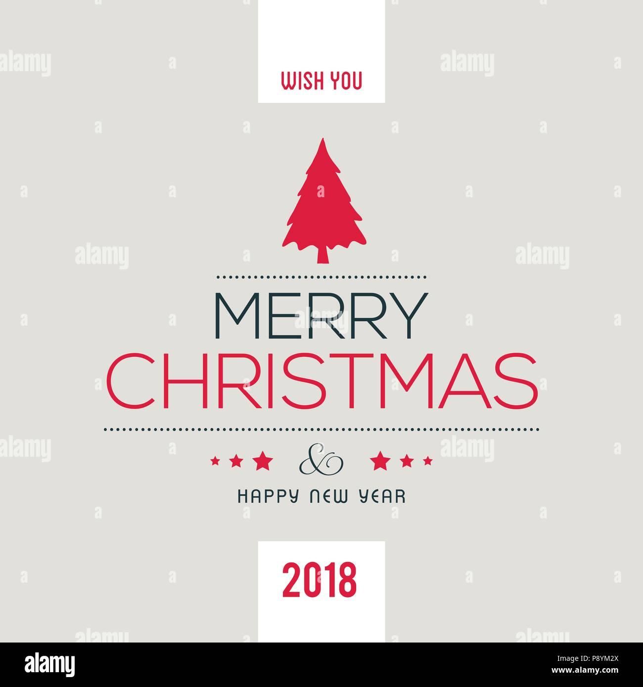 Einfache Weihnachtsgrüße.Weihnachtsgrüße Karte Mit Hellen Hintergrund Mit Weihnachtsbaum Und