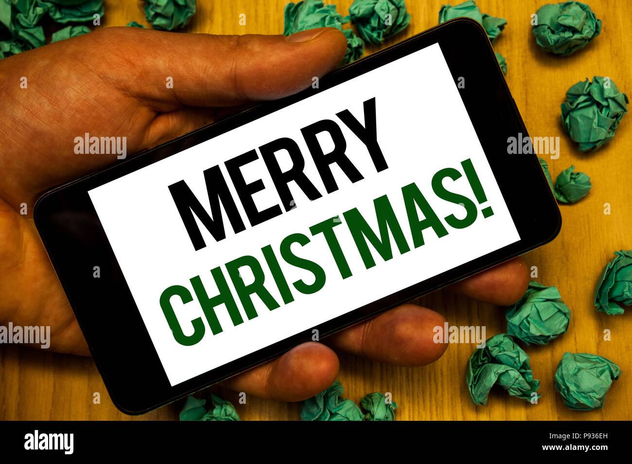 In Diesem Sinne Frohe Weihnachten.Handschrift Text Frohe Weihnachten Motiv Nennen Begriff Sinne