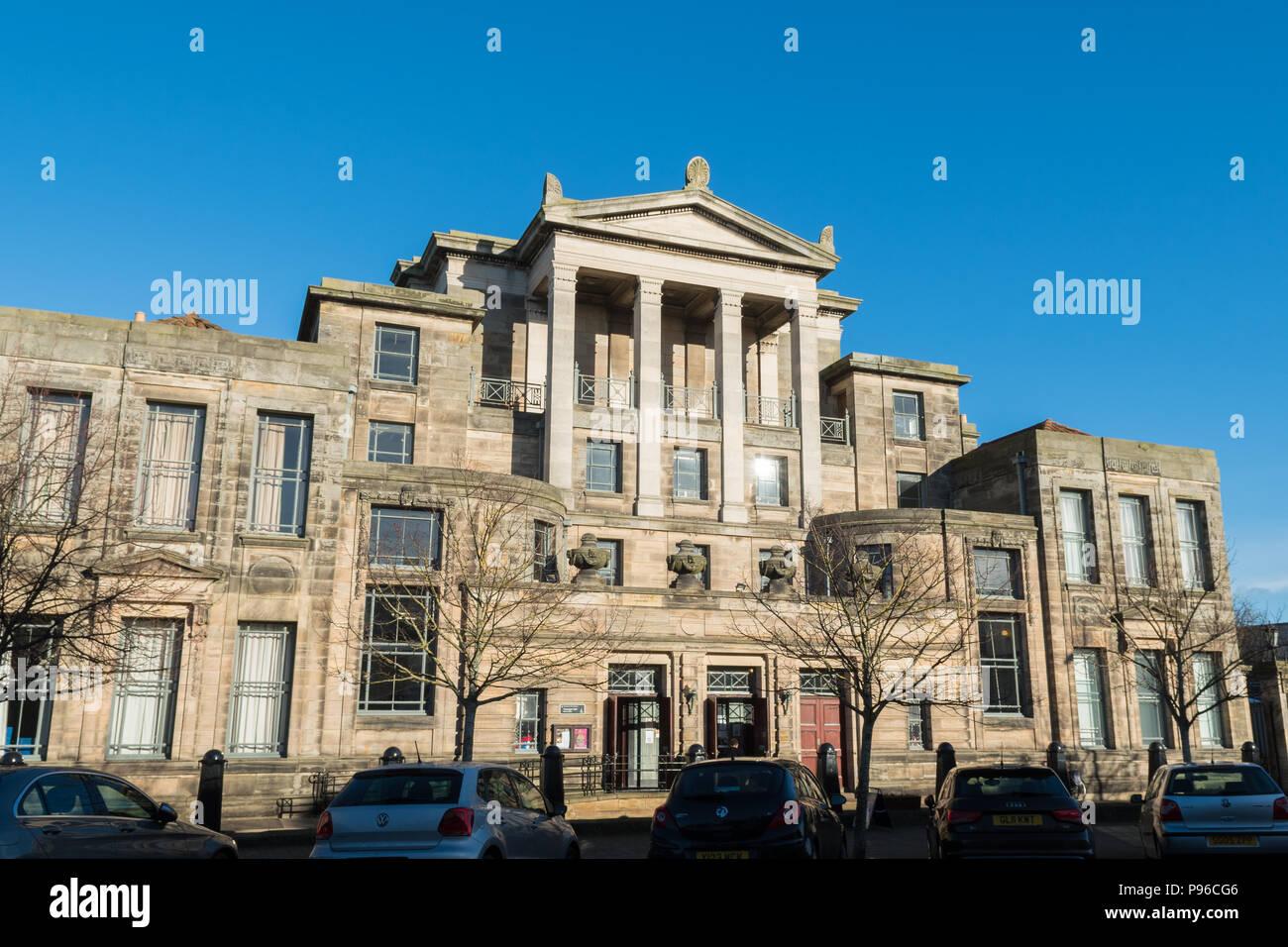 Jüngere Hall, Graduierung und Konzertsaal Universität St. Andrews, St Andrews, Schottland, UK Stockbild