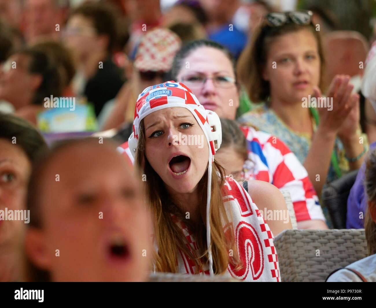 Frau kroatische HRK
