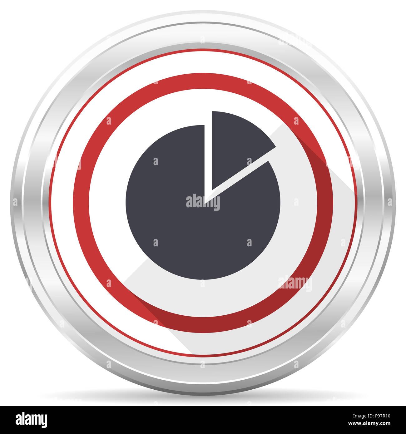 White Flat Balance Icon On Stockfotos & White Flat Balance Icon On ...