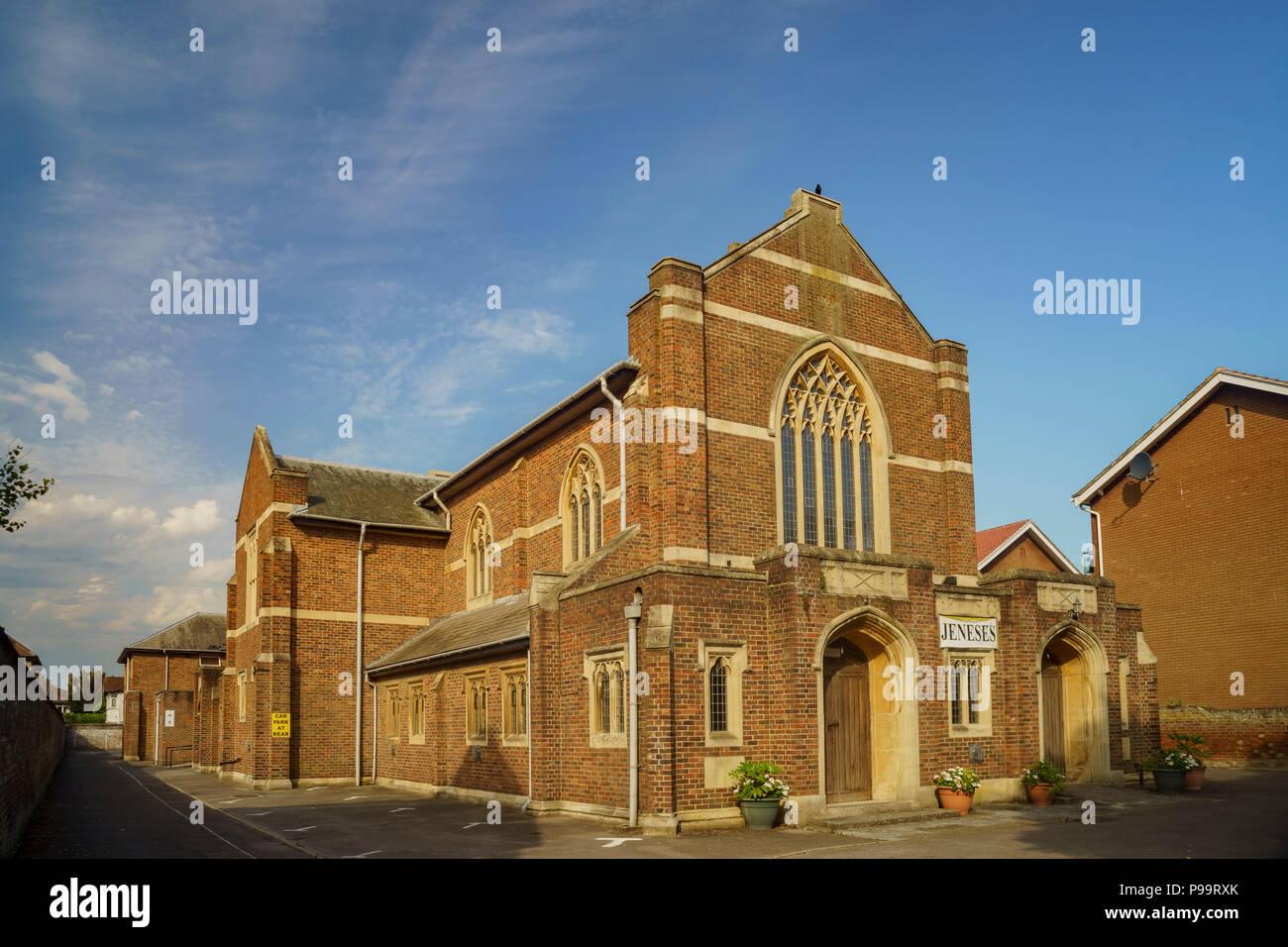 Die igreja AD Novo Dia-Kirche in Bognor Regis, Großbritannien Stockbild