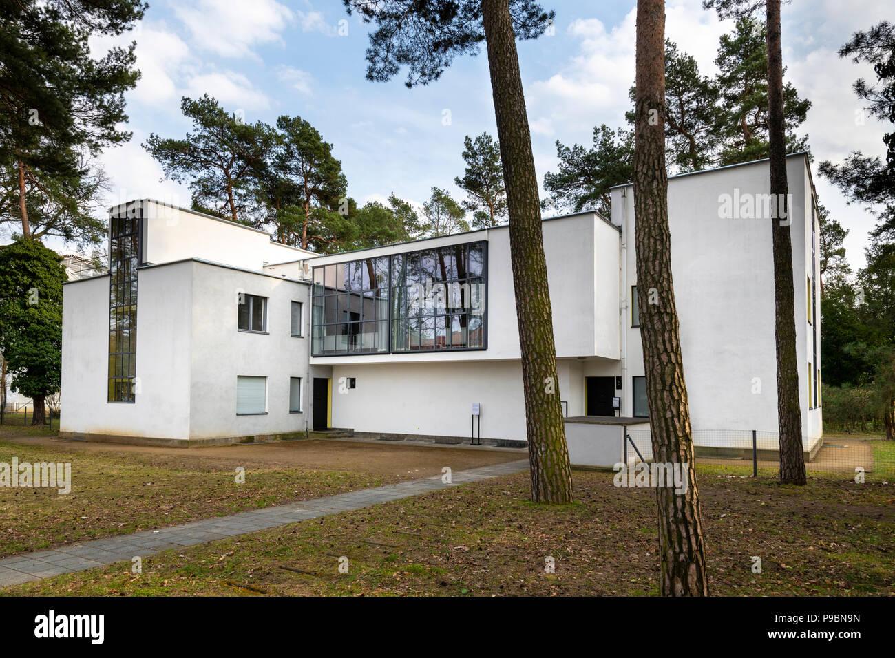 DESSAU Deutschland 30 März 2018 Der Bauhaus meister