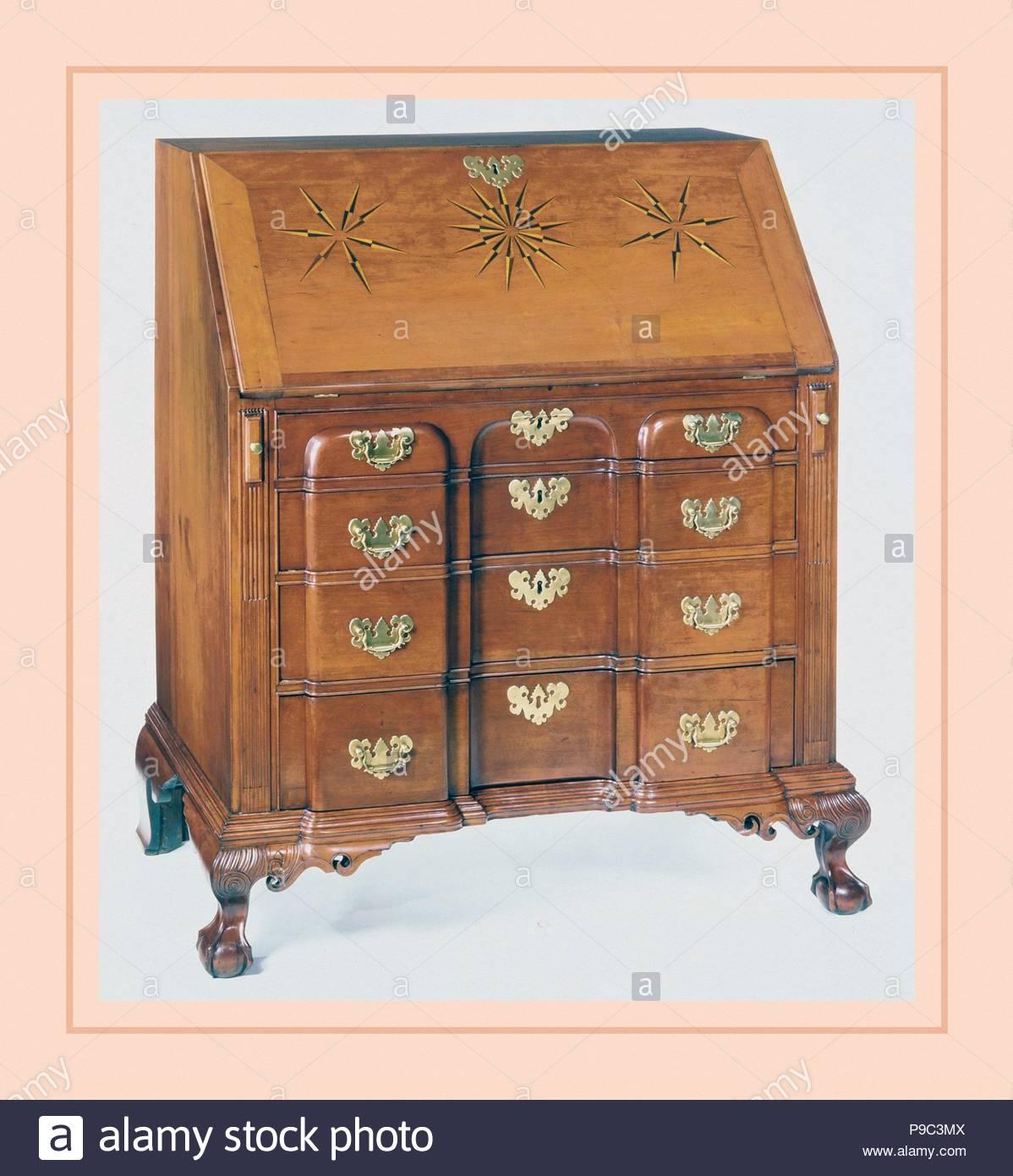 Schreibtisch 1769 In Norwich Connecticut Usa Us Amerikanischen