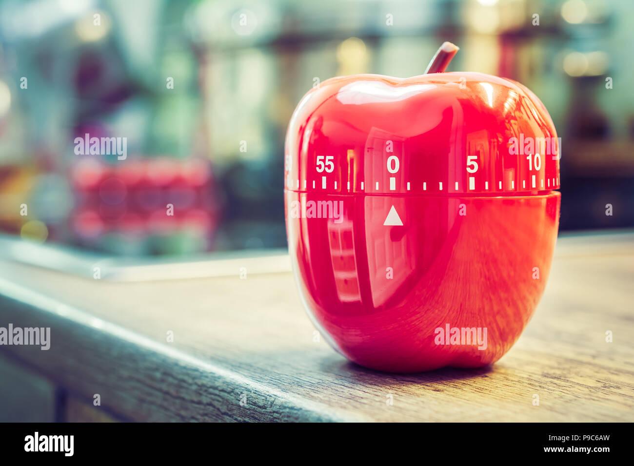 0 Minuten - 1 Stunde - Rote Küche Eieruhr in Form von Apple ...