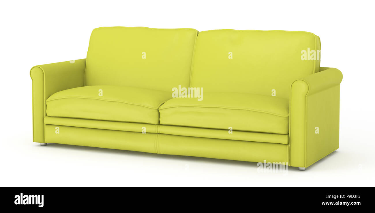 - Yellow Leather Sofa Stockfotos Und -bilder Kaufen - Alamy