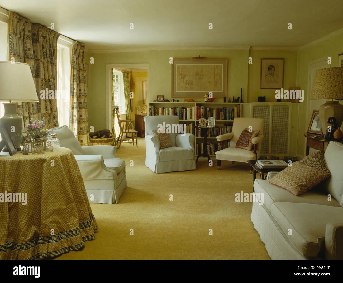21er Jahre Wohnzimmer Stockfotografie   Alamy