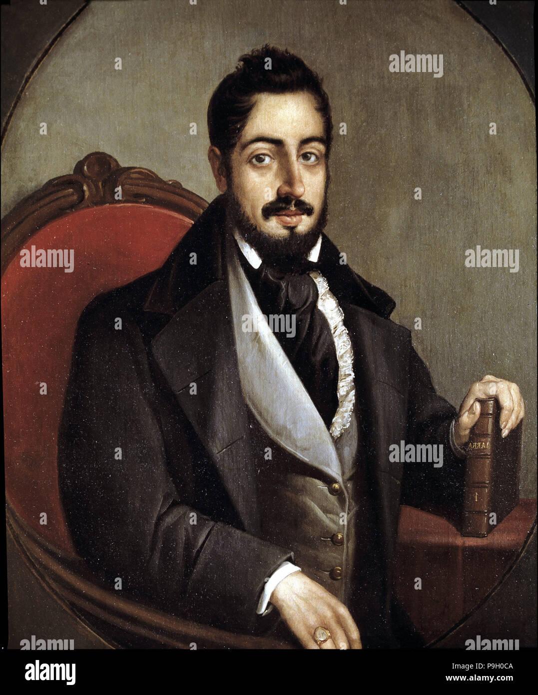 Mariano José De Larra 1809 1837 Spanischer Schriftsteller Stockfotografie Alamy