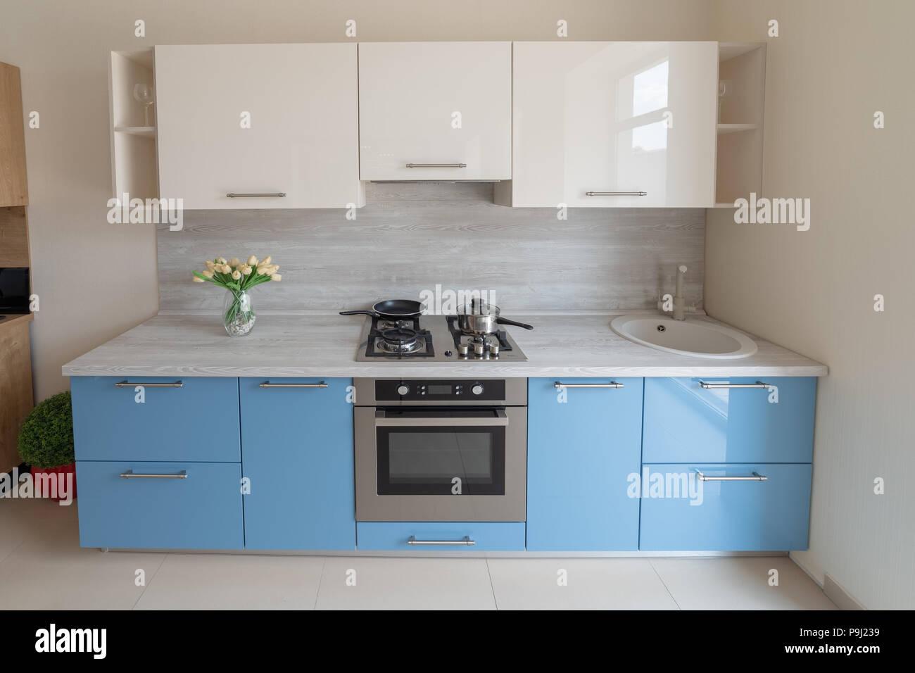 Neue moderne Küche Design, Design Lösungen und innovative ...