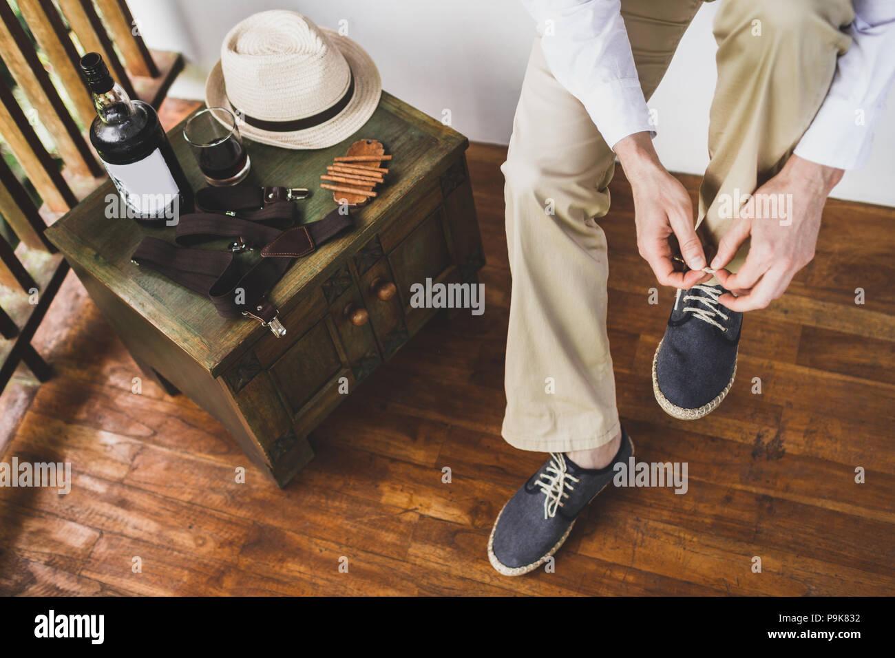 566da8246c403d Blaue Schuhe Stockfotos   Blaue Schuhe Bilder - Alamy