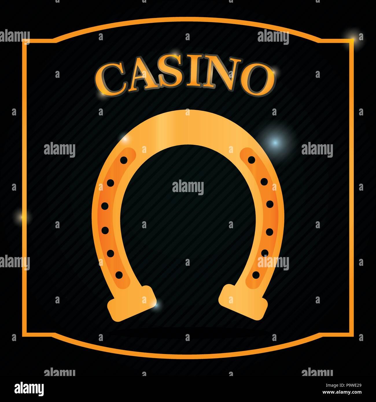 Casino-Spiel-Konzept Stockbild
