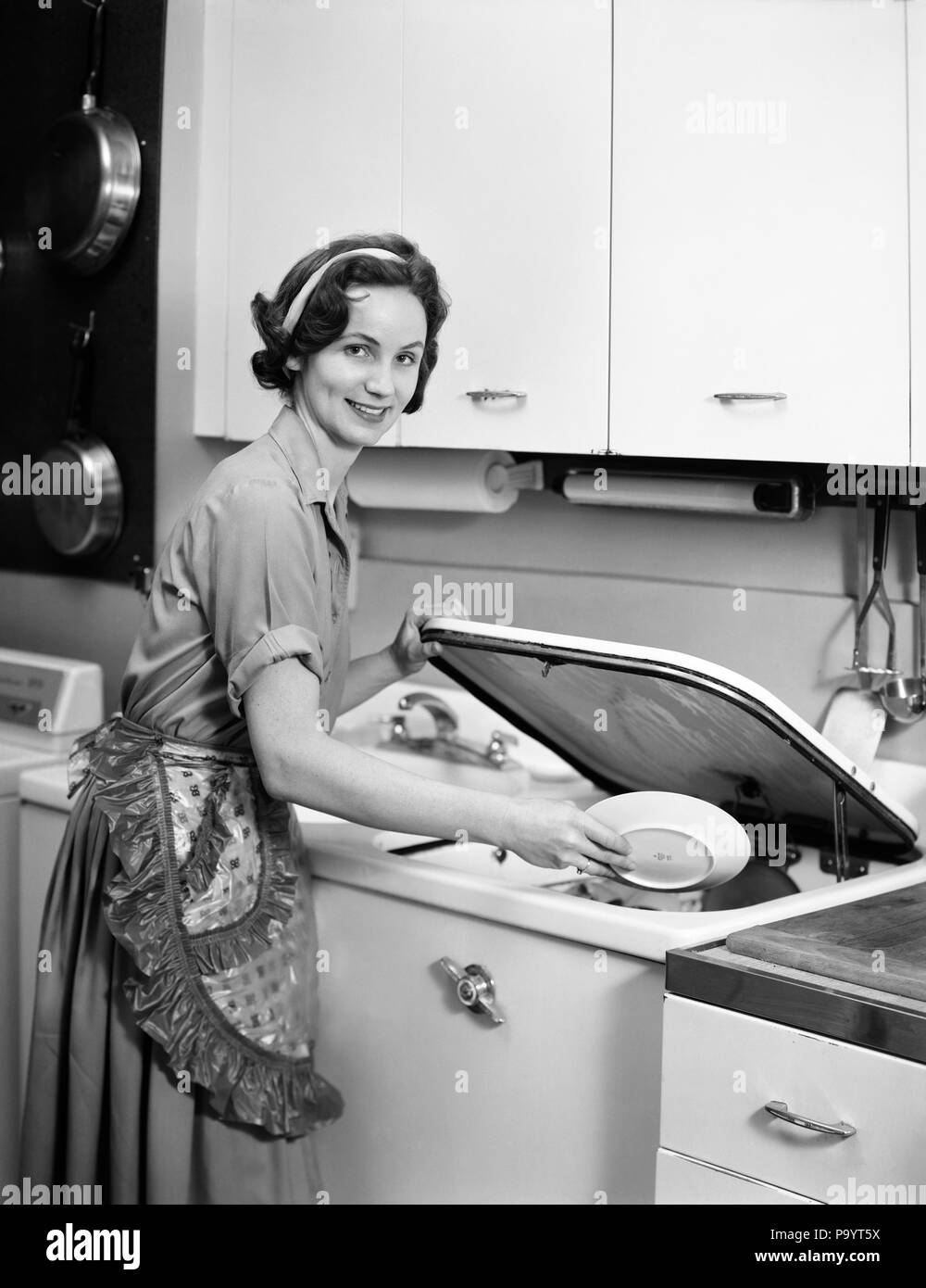 1950s Housewives Stockfotos 1950s Housewives Bilder Alamy