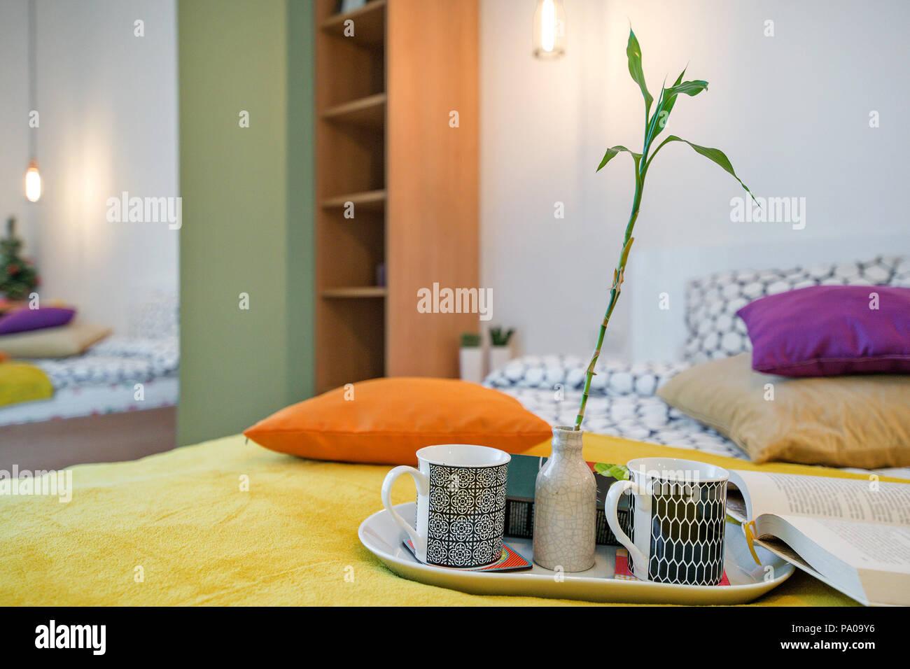 Gem tliches schlafzimmer modern kaufhof bettw sche aldi for Design appartement oberstdorf